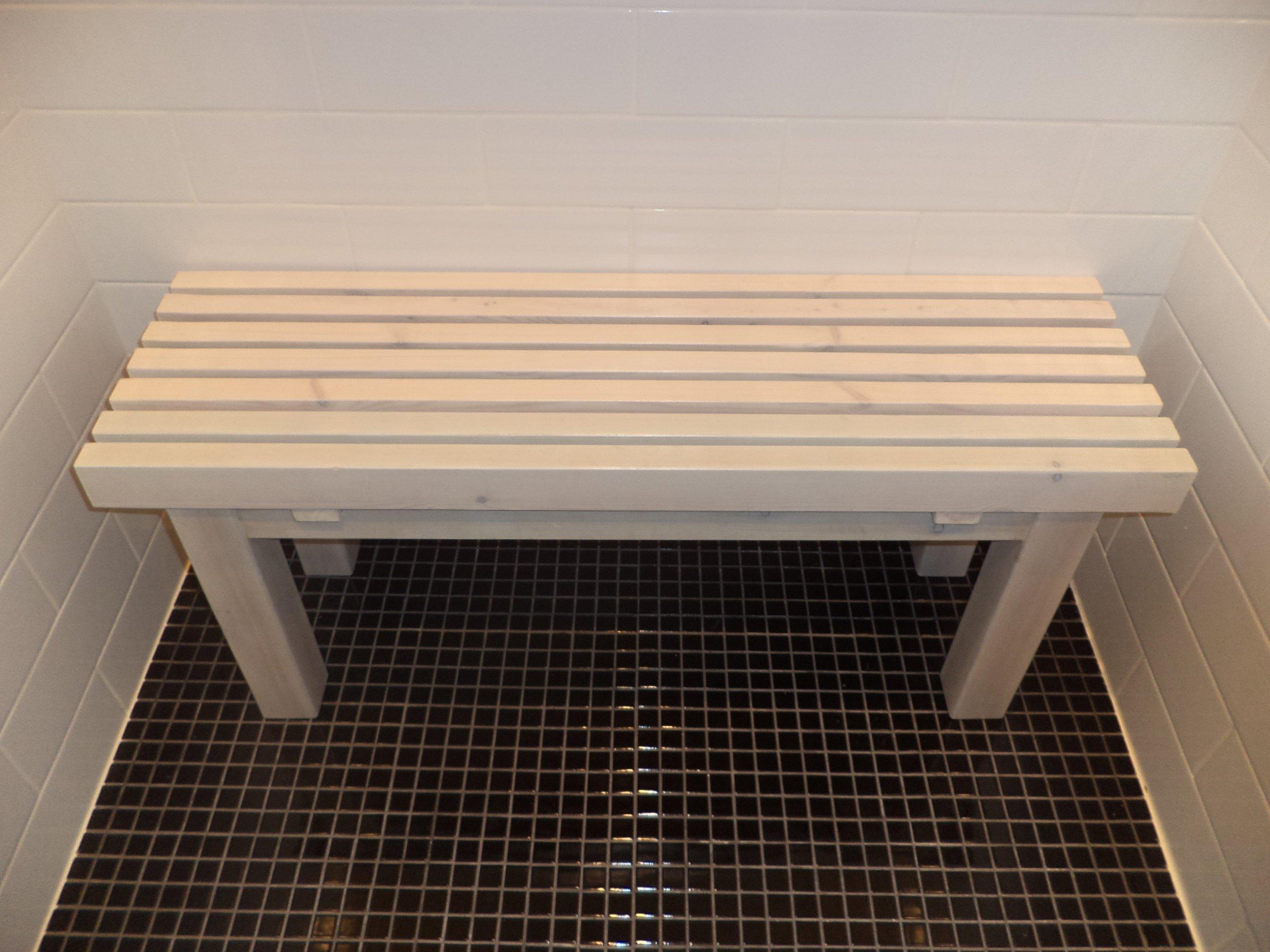 ספסל למקלחת קוסטה דגם אורן 30X100