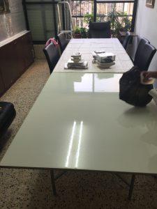 שולחן מתקפל מאריך שולחן קיים